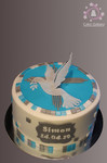 cake white dove