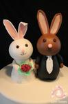 cake topper bunny