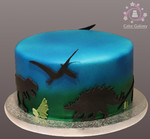 cake dinosaurs